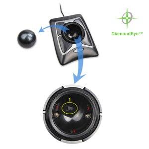Image 4 - Kensington המקורי מומחה Trackball USB עכבר Wired אופטי עם גלילה טבעת גדול כדור עבור AutoCAD/PS עם אריזה קמעונאית
