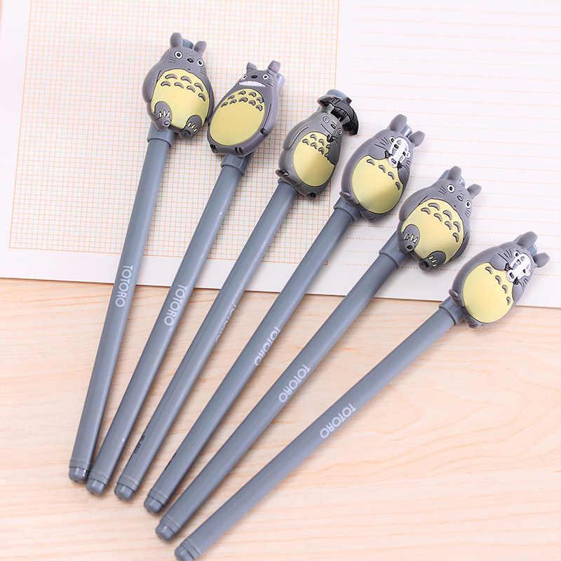 1pcs น่ารัก Totoro Art Markers แปรงปากกา Sketch แอลกอฮอล์เครื่องหมาย Dual หัว Manga วาดปากกาลูกลื่น Art Supplies