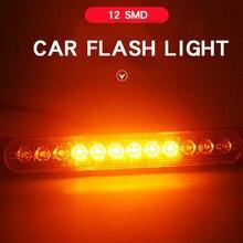 LED Emergency Light For Car Warning Flashing Firemen Police Emergency Light Ambulance Police Strobe LED Warning Light12v 24v