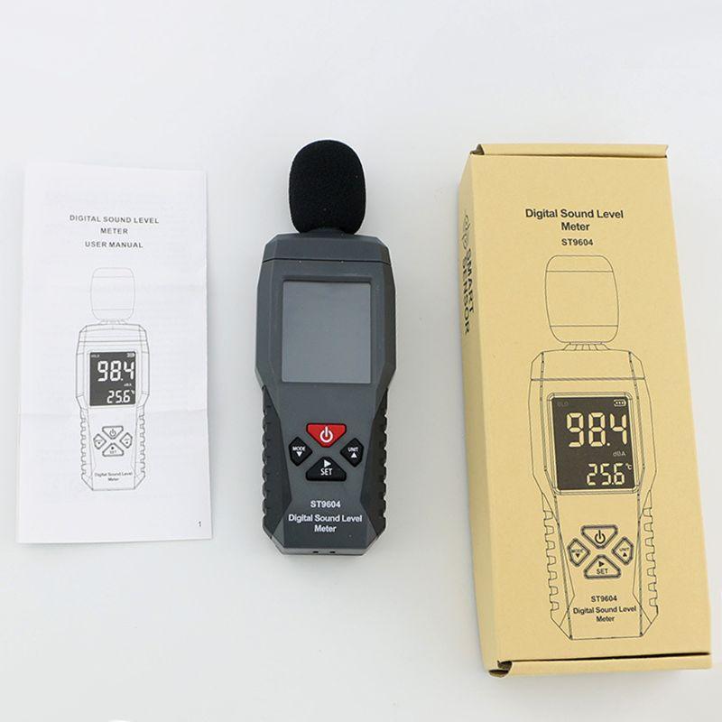 Цифровой измеритель звукового шума ЖК дисплей измерительный