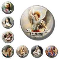 St Michael Magnete Del Frigorifero Religione Saint Decorativo St Jude Magneti Da Frigorifero Vergine Maria Sticker Religiosi Souveni Complementi Arredo Casa