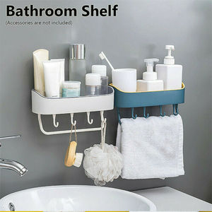 Shower Shelf Wall Storage Rack