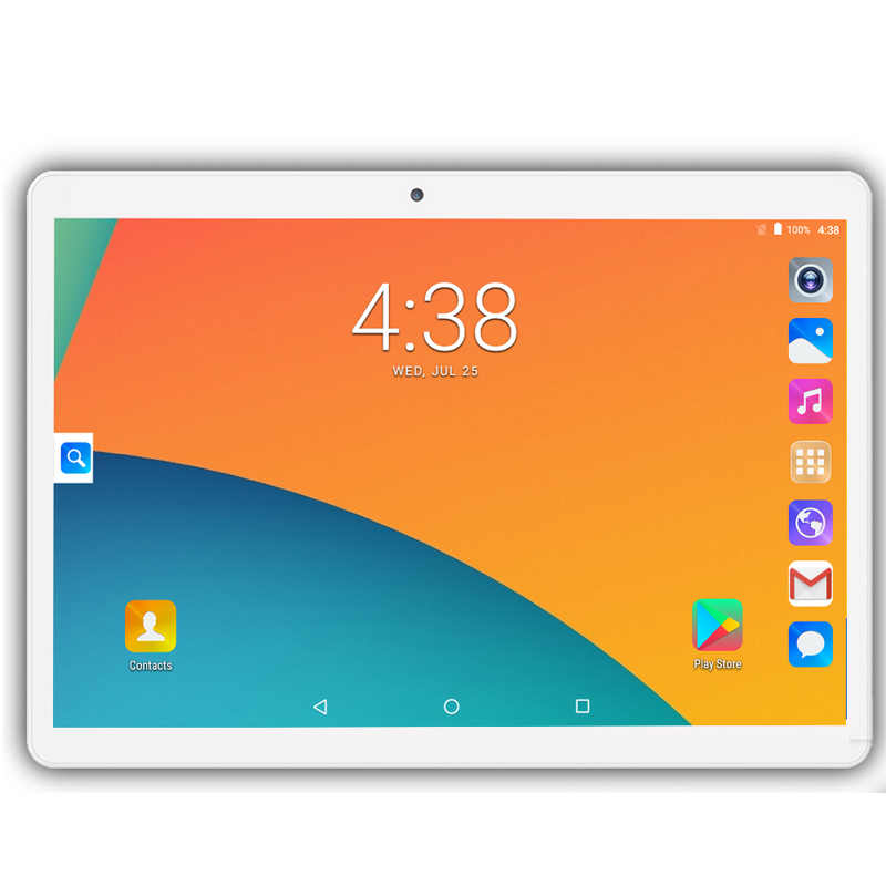 New 10.1 Inch Tablet Screen Mutlti Touch Android 9.0 Octa Core Ram 6GB ROM 128GB Camera 5MP Wifi  Tablet 4G Call Phone Tablet