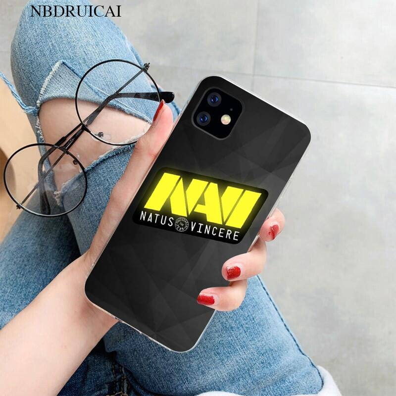 PENGHUWAN Natus Vincere navi Coque Shell Phone Case for iPhone 11 pro XS MAX 8 7 6 6S Plus X 5S SE XR cover