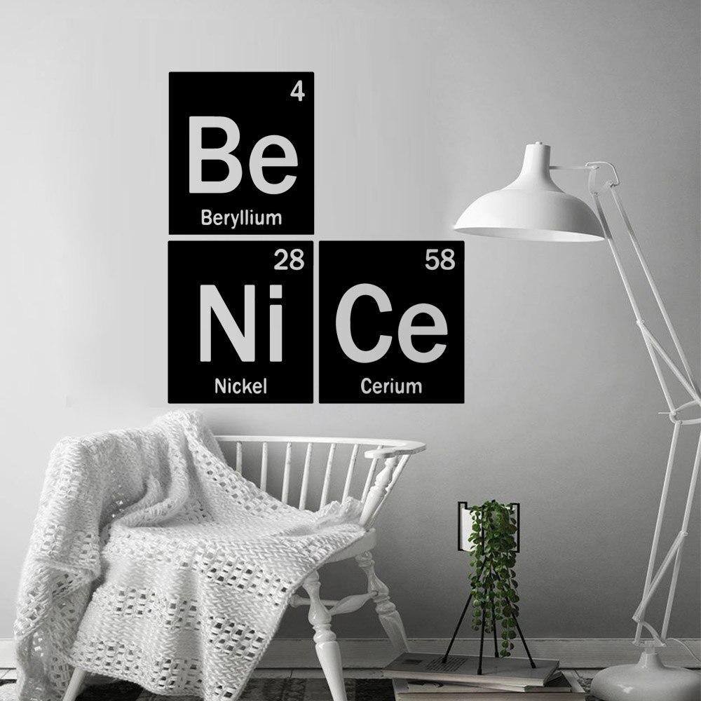 Модные настенные наклейки Benice, персонализированные креативные наклейки для детской комнаты, настенные наклейки, домашний декор, настенные ...