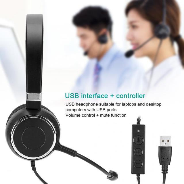 Телефон трафик наушники сервис связь Компьютерная гарнитура USB провод контроль чистый звук качество наушники для колл-центра
