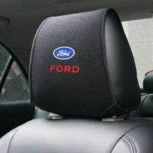 Tampa de encosto de cabeça de carro compatível com ford fiesta ecosport, escort focus 1 focus 3 focus 2, 1 peça