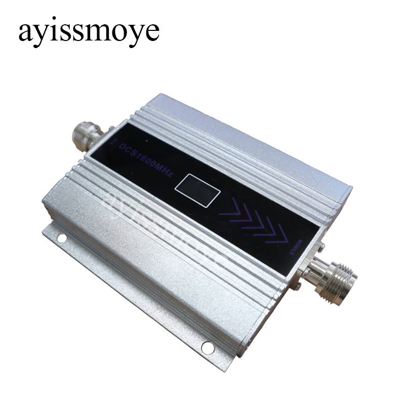 Mobile Amplifier Single Frequency Repeater 1800 Repeater DCS WCDMA 2G 3G 4G Repeater LTE Cellular Signal Enhancer