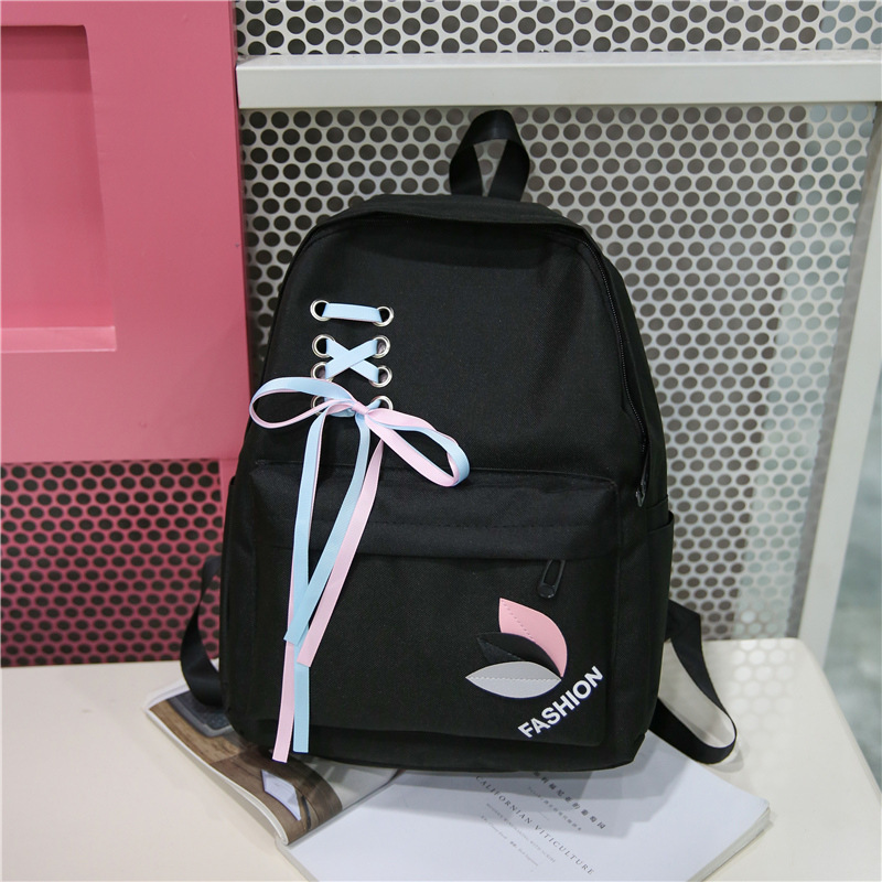 2019 Summer New Style Korean-style Canvas Backpack Schoolbag