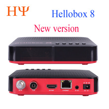 Hellobox 8ดาวเทียมDVB T2 DVBS2 Comboกล่องทีวีTwin TunerสนับสนุนTV Playบนโทรศัพท์ชุดกล่องด้านบนSatellite finder