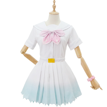 Anime LoveLive! μ's 8th A song for You! Minami Kotori/Umi All Members Uniform Dress Cosplay Costume Halloween Costumes for Women 2