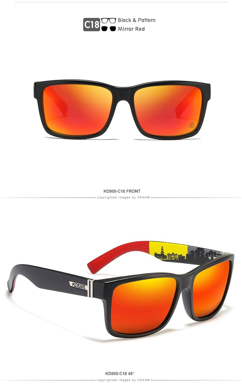Men Sport Polarized Sunglasses - 1MRK.COM