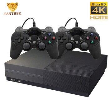 Consola de videojuegos 64Bit 4K HDMI familia 1280P consola de videojuegos Retro con 800 juegos clásicos 4G memoria de salida de TV