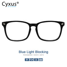 Cyxus Reading Glasses 2.5 Anti Blue Rays Presbyopia Mens Women Eyeglasses Antifatigue Computer Eyewear +1.0 +1.5 +2.0 +2.5 +3.0