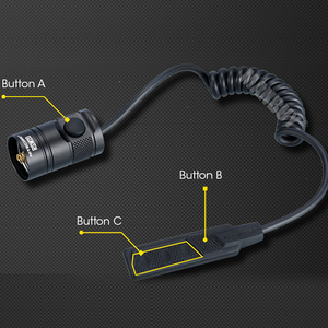 Image 4 - NITECORE RSW2D Remote Pressure Control Switch P12GTS MH12GTS MH25GTS Flashlight Torch Accessorie with STROBE READY Free Shipping