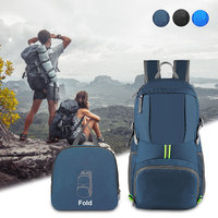 Mochila impermeable plegable para exteriores, morral portátil ligero de 35L, para caza, Camping, viajes y senderismo