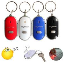 Новый анти-потеря сигнализации ключ искатель брелок для ключей с локатором свисток звук со светодиодный светильник мини анти-потеря ключ и...
