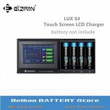 Efan Eizfan LUX S4 plus récent multi fonction écran tactile LCD chargeur universel chargeur de batterie avec batterie IR fonction de test