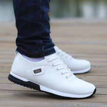 Zapatos de hombre Zapatos casuales de negocios para hombre Zapatos de cuero de PU 2019