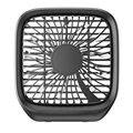 Креативный летний автомобильный вентилятор на заднее сиденье  портативный светильник  небольшой складной вентилятор  автомобильный бесшу...