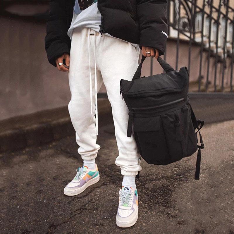 Winter Pants For Women/Men 2020 Warm Fleece Thick Pants Men Joggers Black Grey Sweatpants Male Streetwear Elastic Trousers