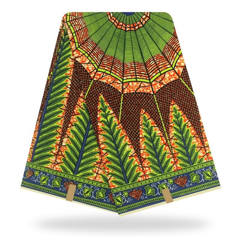 African 6yards  Wax High Quality Pagne Wax100 Cotton  Guaranteed Real  Wax African Ankara Sewing Fabric