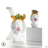 Nordic decorative flower pots ins wind succulents modern minimalist creative cute potted art ornaments avatar