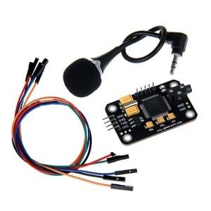 Image 1 - Controle Duurzaam Spraakherkenning Module Universele Jumper Draad Black Speech Met Microfoon Gereedschap Hoge Gevoeligheid Voor Een Rduino