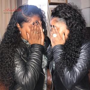 Image 5 - Splecione kręcone włosy wiązki 1/3 wiązki naturalny kolor Remy 100% doczepy z ludzkich włosów Arabella podwójne pasma włosów wiązki