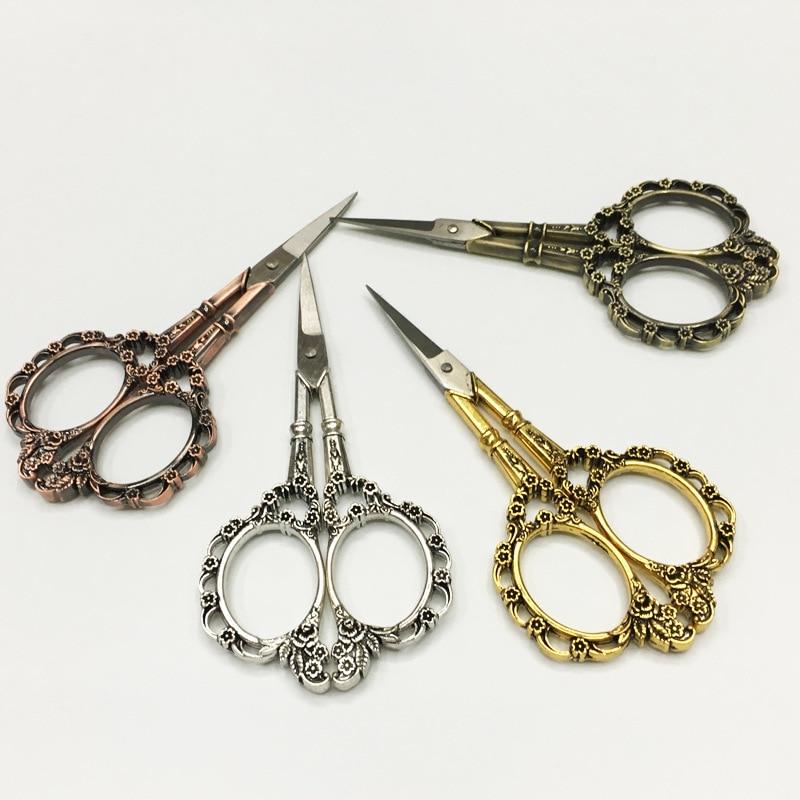 Manufacturers Direct Selling European Style Stainless Steel Classical Plum Shear Zakka Handmade Retro Small Nail-scissor