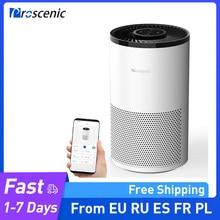 Proscenic A8 Smart WiFi Luftreiniger mit H13 Echter HEPA-Filter für 430 Sq. Ft 99.97% Luft Reiniger Für Pollen Hautschuppen Rauch
