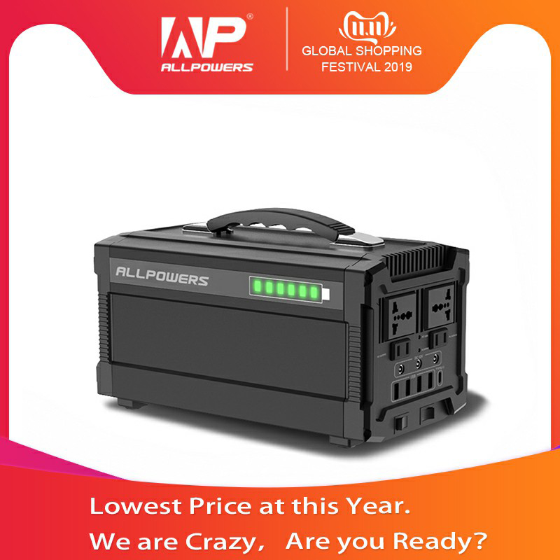 ALLPOWERS 220V Power Bank 78000mAh Portable Generator Power Station AC/DC/USB/Type C Multiple Output UPS Power Battery.-in Power Bank from Cellphones & Telecommunications
