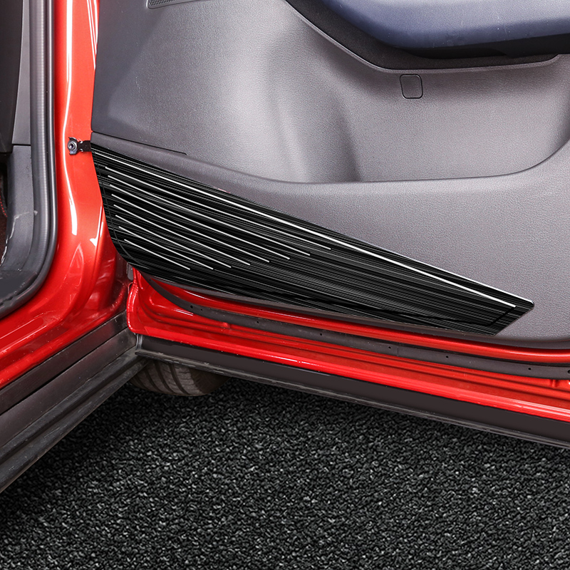 For Mazda CX30 CX-30 2020 Car Stainless  Steel  Door  Anti-Kick Pad Door protection Cover Decoration Car-styling 4PCS