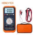 Тестер HONEYTEK мультиметр Цифровой Lc Измеритель напряжения индикатор емкости транзистор Puntali тестер мультиметр температура