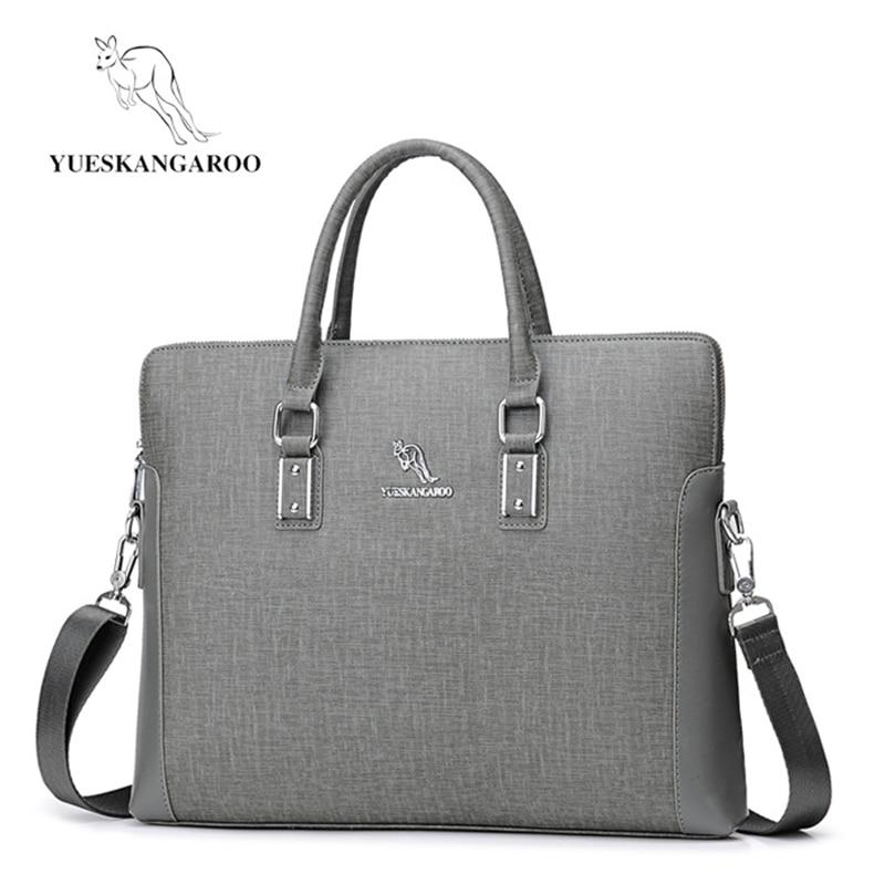 YUESKANGAROO Men's Business Messenger Bags Handbag Large Capacity Crossbody Bag Laptop Bag Briefcase For Men Shoulder Bags