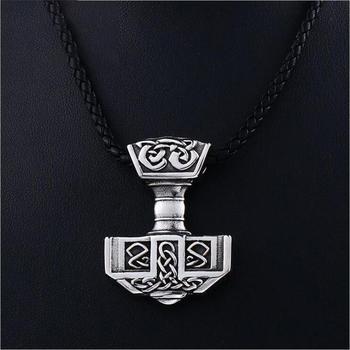 Collier Viking marteau de thor