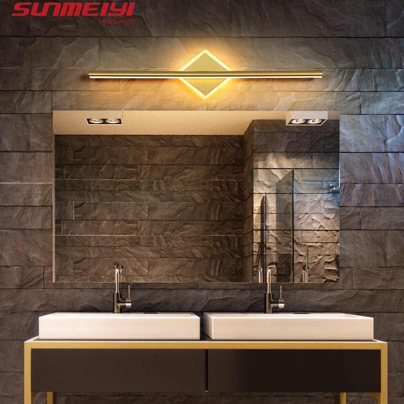 Nordic LED Wall Lamps Bathroom Wall Sconces Led mirror Light Bedroom Living room Industrial Modern applique murale luminaire|LED Indoor Wall Lamps| |  - title=