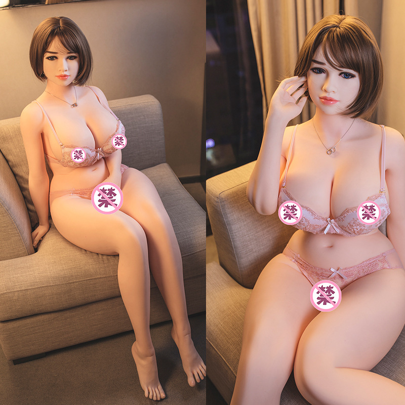 <font><b>162cm</b></font> Japanese Suck Big Breast Lifelike Skeleton <font><b>Sex</b></font> <font><b>Dolls</b></font> for Men Silicone Chubby Sexy Vagina Real Chest Huge Fat Ass Sexo <font><b>Doll</b></font> image