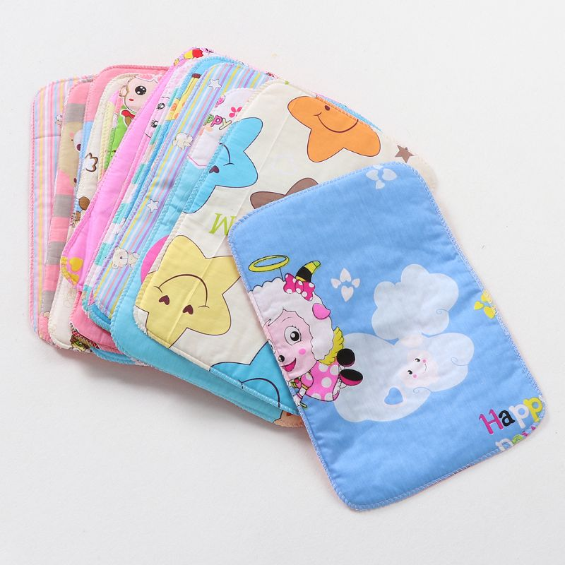 Diapers Sheet-Changing-Mat Baby Waterproof Covers Newborns Reusable for 1pcs 25--35