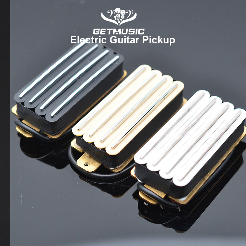 Hot Rail 2-Dual Blade Electric Guitar High Output Track Type Four Coil Humbucker Pickup