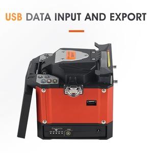 Image 3 - A 80S Orange Automatic Fusion Splicer Machine Fiber Optic Fusion Splicer Fiber Optic Splicing Machine