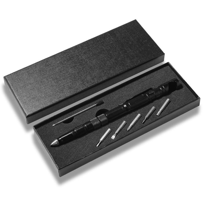 Многофункциональная тактическая ручка для самообороны многофункциональный