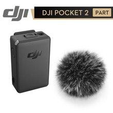 Dji pocket 2 microfone sem fio enviar sinal de áudio sem fio e eliminar ruído gerado e controle do obturador por vento