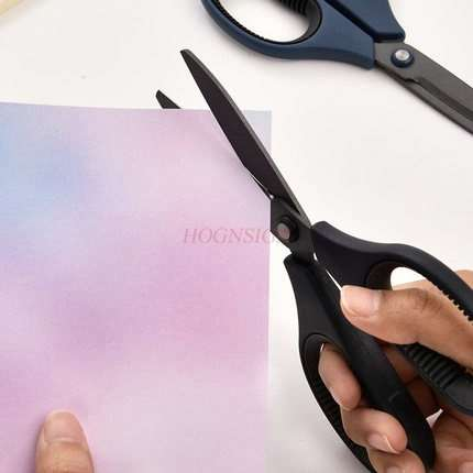 Scissors Office Student Multifunctional Household Manual Paper-cutting Knife Manual Safety Stainless Steel Scissors