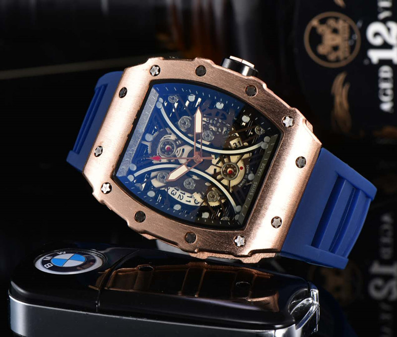 Richard Luxury Quartz Watches Mille Mens Automatic Watch Men's Designer Wrist watch Water Resistant Reloj Hombre