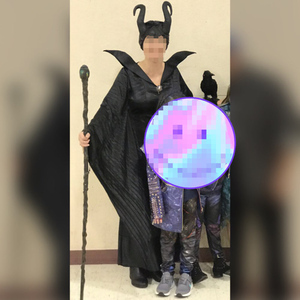 Image 2 - Halloween Party Adult Women Fantasia Sexy Maleficent Costume Sleeping Beauty Evil Witch Cosplay Fancy Dress