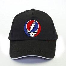 цена на grateful dead Psychedelic rock band Baseball Cap men women rock music Lovers Trucker cap Grateful Dead Print snapback hat bone