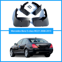 For Benz S-class W221 W222 S300 S350 S450 S500 Mudguards mud- flaps car Fenders auto accessories 2008-2019