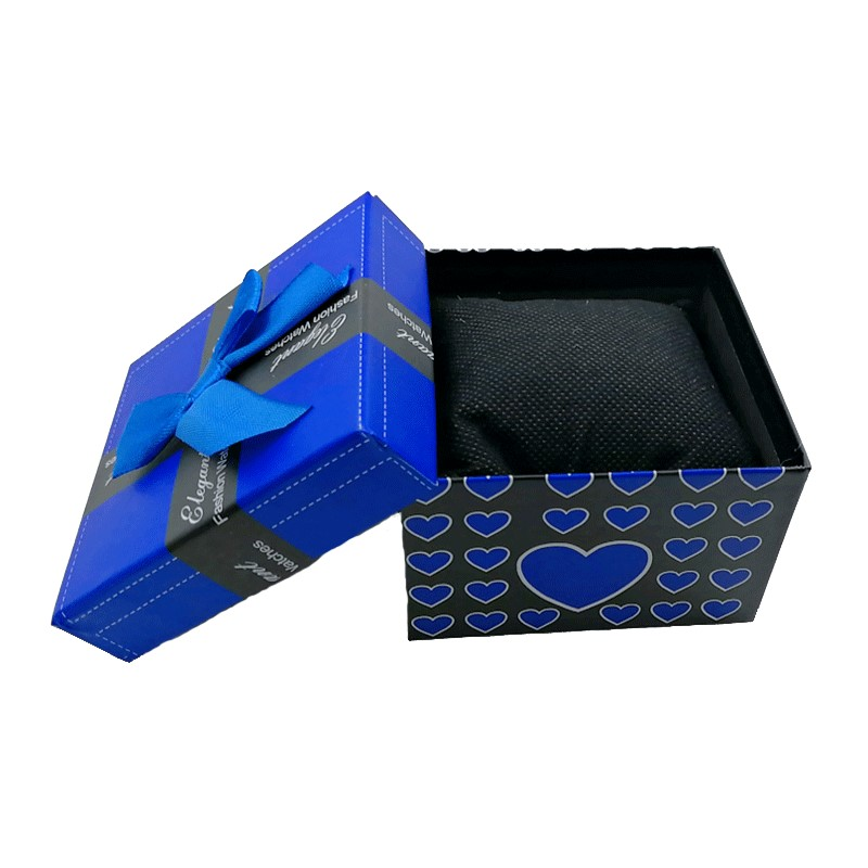 Bowknot Watch Box Fashion Durable Fashion Prese Beautiful Watch Box Bracelet Bangle Jewelry Display Present Case Display Holder
