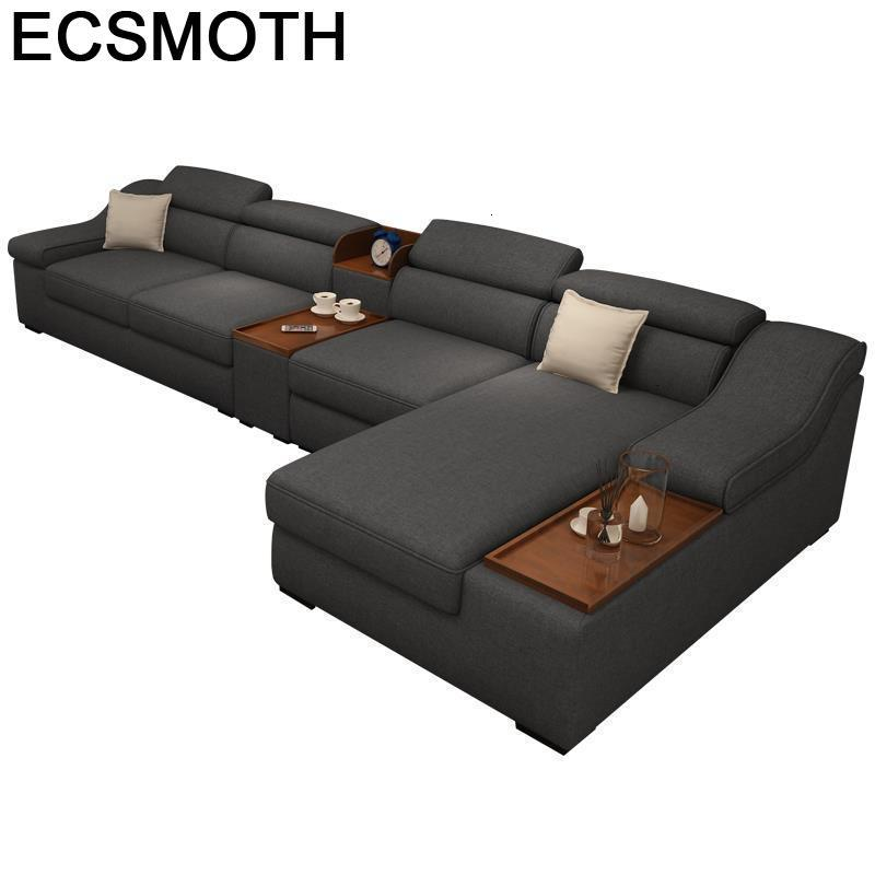 Couch Moderno Fotel Wypoczynkowy Moderna Para Puff Asiento Home Sillon Mobilya Set Living Room Furniture Mueble De Sala Sofa